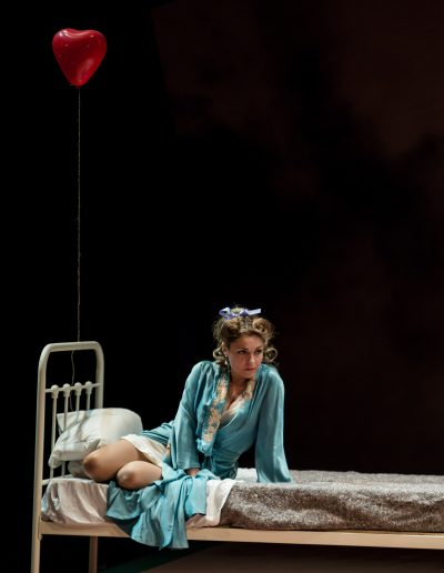 "Fiordiligi in Oxford Philharmonic/Metta Theatre production of Mozart's ""Cosi fan tutte"", Oxford New Theatre, May 2015"